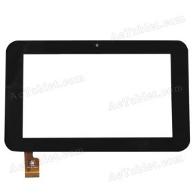 Replacement Touch Screen for Sanei N77 (Ampe A76) Fashion AllWinner A13 Tablet PC 7 Inch