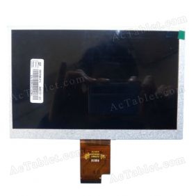 Replacement LCD Screen for Sanei N78 (Ampe A78) 2G MTK6575 Tablet PC 7 Inch