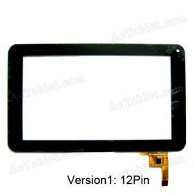Ployer MOMO9 III A13 Tablet PC Touch Screen Panel Digitizer Glass Replacement 7 Inch
