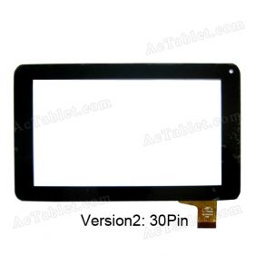 30Pin PB70A8508 Touch Screen Panel for JXD S6600 Allwinner A13 Tablet PC  7 Inch