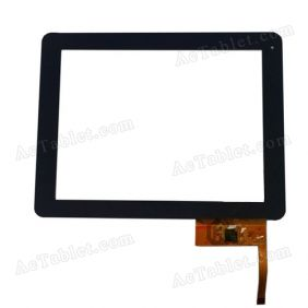Digitizer Touch Screen Replacement for MPMAN MPQC974 ARM Cortex A9 9.7 Inch Tablet PC