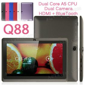 YeahPad Q88/Q8 Dual Core iMAPx15 Android 4.1 MID Tablet PC 7 Inch Dual Camera HDMI BlueTooth