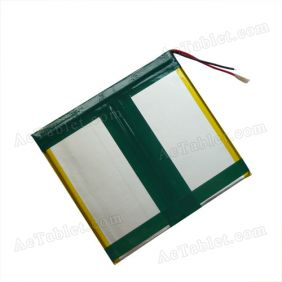 Replacement 5000mah Battery for 10/10.1/10.2 Inch Android Tablet PC 7.4V