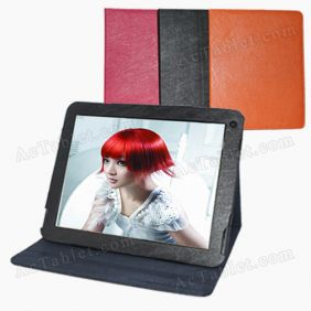 Leather Case Cover for Hyundai X900, Chuwi V99 Tablet PC 9.7 Inch