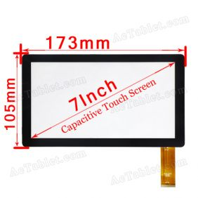ZHC-Q8-057A 7 Inch Touch Screen Panel for Tablet A13 A10 A70 T52 B820 X5 R700 Q8 Q88 V8 A73