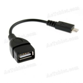 Micro USB Host OTG Cable for 9 Inch Allwinner A13 MID Android Tablet PC