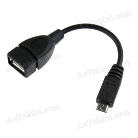 Micro USB Host OTG Cable for Q88/Q8/Q8D Dual Core MID 7 Inch Tablet PC