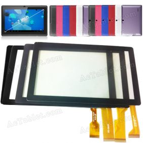 GF-7001A1-PG Replacement Touch Screen Glass for 7 Inch Android Tablet PC