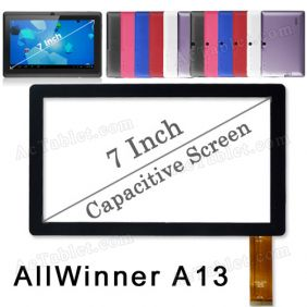 Digitizer Glass Touch Screen for Maxtouuch 7 inch Allwinner A13 MID Android Tablet PC Replacement