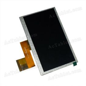 Replacement LCD Display Screen for YeahPad Q88 Q8 Q88+ Allwinner A13 MID 7 Inch Android Tablet PC