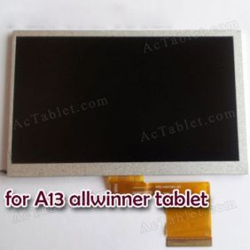 Replacement Inner LCD Display Screen for Zeepad 7.0 Allwinner A13 MID 7 inch Android Tablet PC