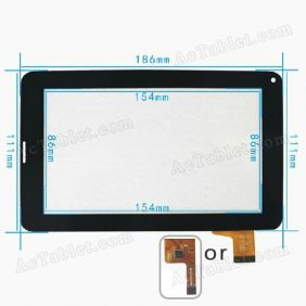 Digitizer Touch Screen for Maxtouuch 7 inch Allwinner A13 2G Sim Voice Calling Tablet PC Replacement