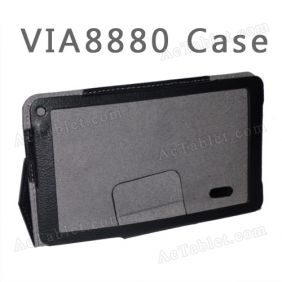 Leather Case Cover Stand for VIA V7 WM8880 7 inch Android Tablet PC
