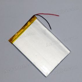 Universal Replacement 3000mah Battery for 7 Inch SmartQ Android Tablet PC 3.7V DC 5V