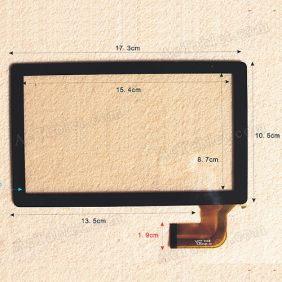 Touch Screen Digitizer Replacement for 7 Inch ICOO D50W Allwinner A13 Tablet PC