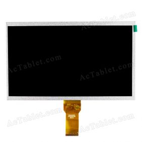 Replacement LCD Screen for FlyTouch 5/6/7 SuperPad V/VI/VII Vimicro VC882 WoPad V10 Tablet PC