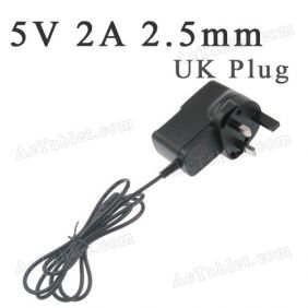 5V Power Supply Charger for Sumvision Cyclone Voyager 27 7 Inch Quad Core RK3188 Tablet PC