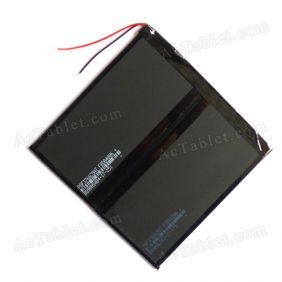 Replacement 8000mAh Battery for Gemei G9T Amlogic 8726-MX Dual Core Android Tablet PC 3.7V