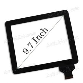 Replacement Touch Screen for FNF ifive X Dual Core RK3066 Tablet PC 9.7 Inch
