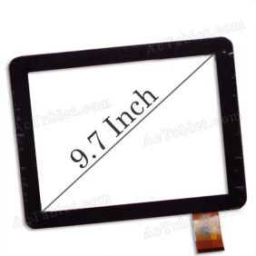 MT97002-V4 Digitizer Glass Touch Screen for FNF ifive 2 Dual Core RK3066 Tablet PC 9.7 Inch