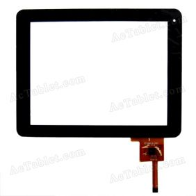 Replacement Touch Screen for Gemei G6 Amlogic 8726-MX Tablet PC CZY6057B-FPC