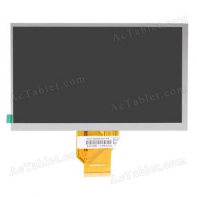 Universal 20000938-00 AT070TN90 LCD Display Screen for 7 Inch Android Tablet PC Replacement