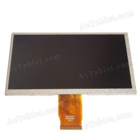 Inner LCD Display Screen for 7 Inch Newsmy Newpad T7 RK2918 Tablet PC Replacement
