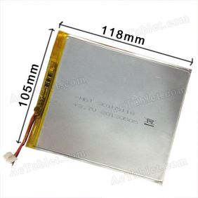 Universal Replacement 4800mah Battery for 8 Inch Newsmy Newpad Android Tablet PC 3.7V DC 5V
