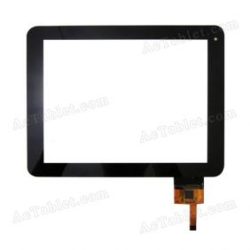 Digitizer Glass Touch Screen for Newpad Newsmy T9 Dual Core RK3066 Tablet PC 8 Inch