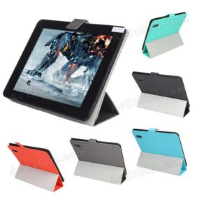 Ultra Thin Soft Waterproof Leather Case Cover for PiPo M6  M6Pro Tablet PC 9.7""