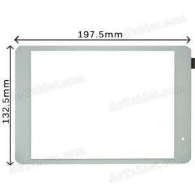 Replacement Touch Screen for Vido M1 Mini One Quad Core RK3188 Tablet PC