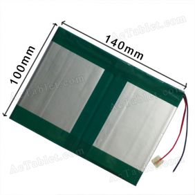 7000mAh Battery for 10.1 Inch HKC X101 Dual Core Android Tablet PC 3.7V