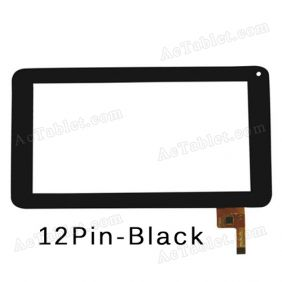 sTouch Screen Digitizer Glass Panel for Mach Speed Trio Stealth G2 7 Inch Tablet PC