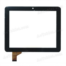 Digitizer Touch Screen for HKC S86 Amlogic 8726-MX Dual Core Tablet PC 8 inch