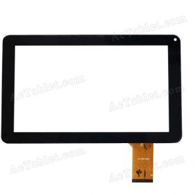 CZY62696B-FPC Digitizer Glass Touch Screen for Allwinner A13 MID Tablet PC 9 Inch Replacement