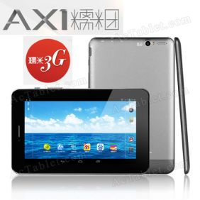 Ainol AX1 3G Quad core MT8389 Tablet PC - 7 Inch  Dual sim 2G GSM WCDMA GPS Dual camera