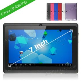 Ultra Thin YeahPad Q88 AllWinner A13 MID Tablet 7 Inch Android 4.0 Dual Camera