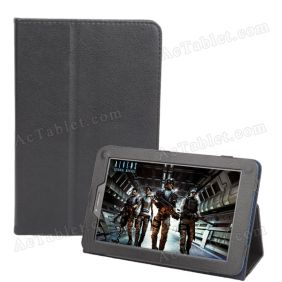 Leather Case Cover for Ainol Novo 7 AX1 3G Tablet PC 7 Inch