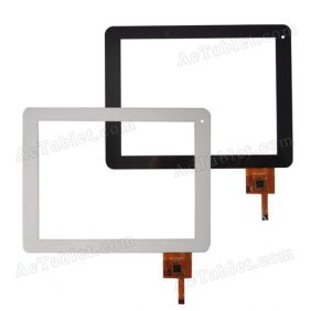 OPD-TPC0077 Digitizer Glass Touch Screen for 8 Inch Tablet PC Replacement