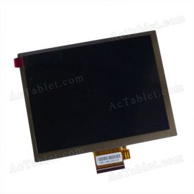 7610028288 E242868 LCD Display Screen for 7 Inch Tablet PC 800x600px 60Pin