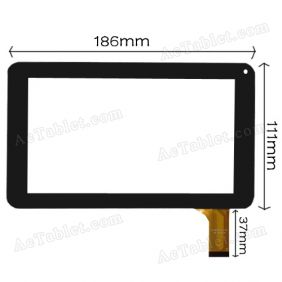 CZY6347A-FPC Digitizer Glass Touch Screen for 7 inch Android Tablet PC