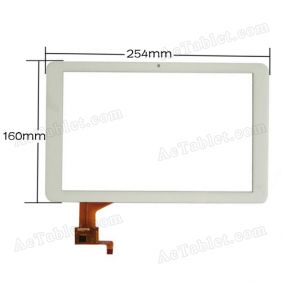 FPC-10108F1 Digitizer Glass Touch Screen for 10.1 Inch Ramos Android Tablet PC