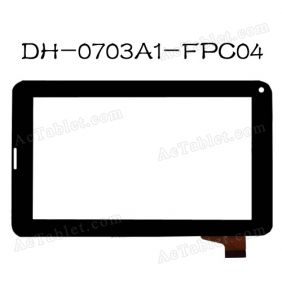 DH-0703A1-FPC04 Digitizer Glass Touch Screen Panel for 7 inch Android Tablet PC