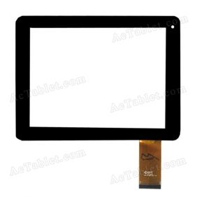 DPT 300-N3708R-A00 Digitizer Glass Touch Screen for 8 Inch Tablet PC Replacement