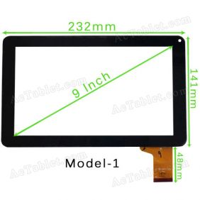 CTD FM901601KD Digitizer Touch Screen for 9 Inch A20 A13 VIA WM8880 MID Tablet PC