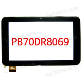 PB70DR8069 Digitizer Touch Screen for Window Yuandao Vido N70 Dual Core RK3066 Tablet PC