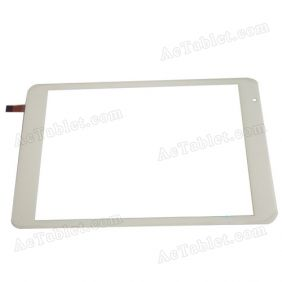 Digitizer Glass Touch Screen for Ramos X10Pro MTK8389 Quad Core Tablet PC 7.85 Inch Replacement
