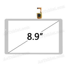 Digitizer Glass Touch Screen for Ramos i9 Intel Z2580 Tablet PC 8.9 Inch Replacement