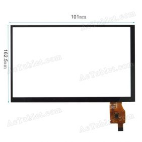 Digitizer Glass Touch Screen for Ramos W17Pro Quad Core ATM7029 Tablet PC 7 Inch Replacement