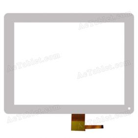 Digitizer Glass Touch Screen for Ramos W25HD Quad Core A31 Tablet PC 9.7 Inch Replacement